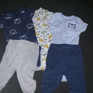 5pieces Baby Boys Clothing Items